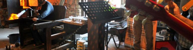 El vidre i la música en directe omplen el Museu i Forn del Vidre de Vimbodí, en el marc del Dia Internacional dels Museus